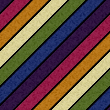 naadloze retro diagonale lijnen patroon Stock Illustratie