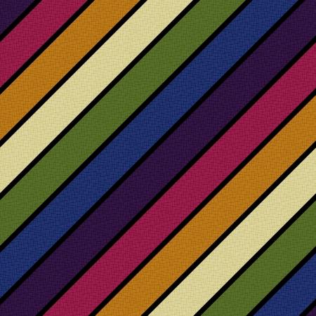 Seamless retro linee diagonali modello Archivio Fotografico - 24541530
