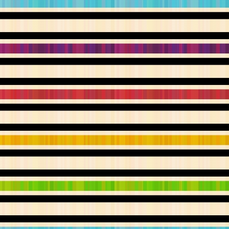 seamless colorful horizontal stripes pattern  Vector
