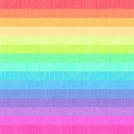 horizontální: bezešvé barevné duhové pruhy vzor