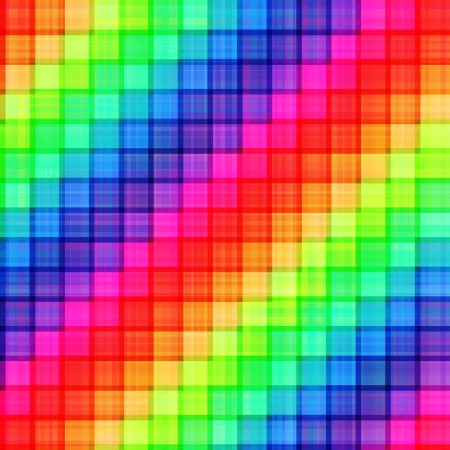 seamless colorful pixelated square pattern  Vector