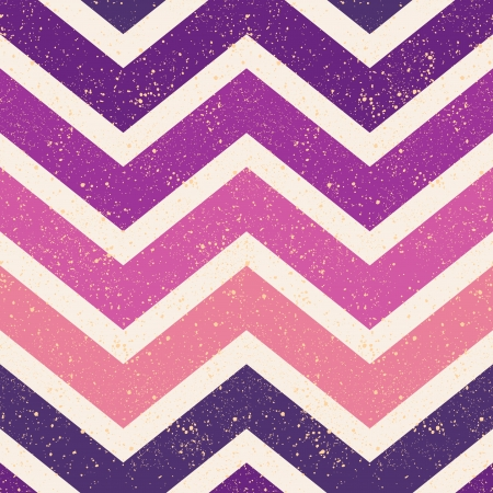 seamless retro chevron pattern  Çizim