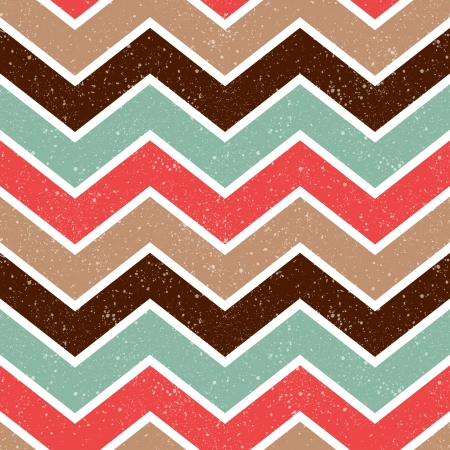 seamless retro chevron pattern  Ilustrace