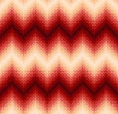 seamless pixelated chevron pattern Vector
