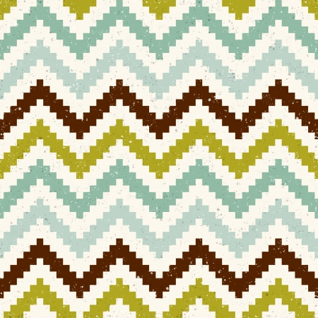 seamless pixelated chevron pattern