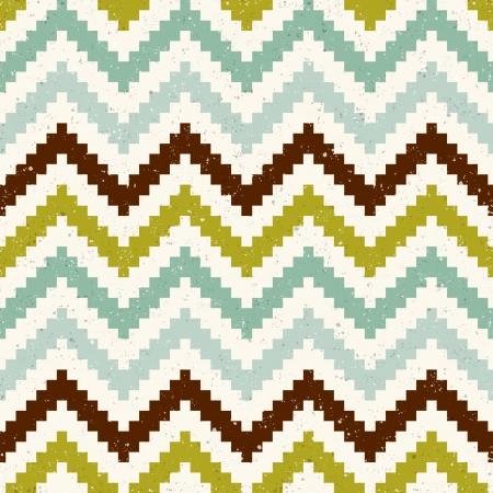 seamless pixelated chevron pattern Stock Vector - 24645770
