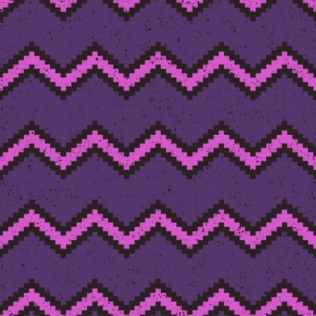 seamless pixelated chevron pattern Stock Vector - 24645772