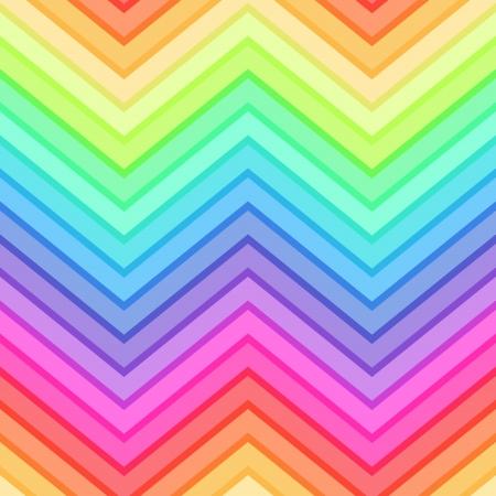 シームレスな虹シェブロン パターン  イラスト・ベクター素材