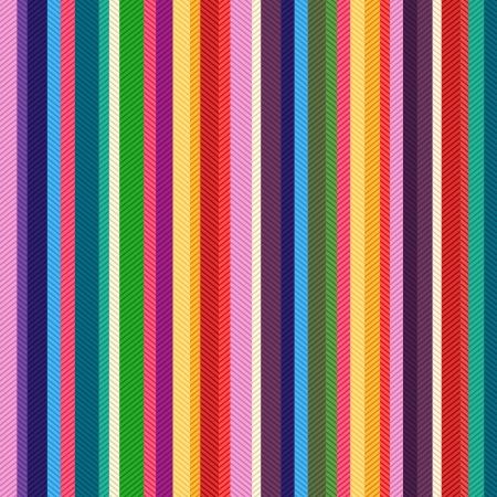 nahtlose bunte Streifen strukturierte Muster Vektorgrafik