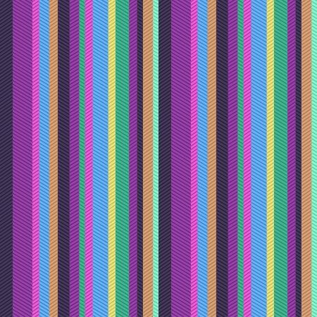 sfondo strisce: modello seamless strisce colorate strutturato Vettoriali