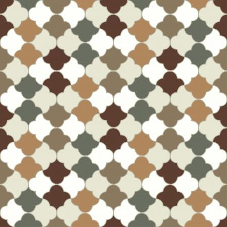 seamless islamic tiles pattern