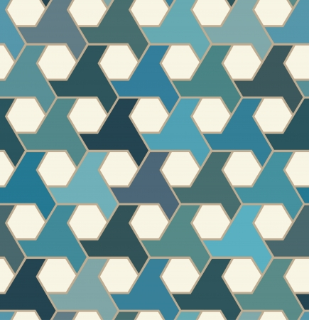 seamless islamic tiles pattern Vector