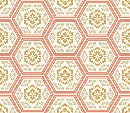 naadloze Chinese stijl weefsel patroon
