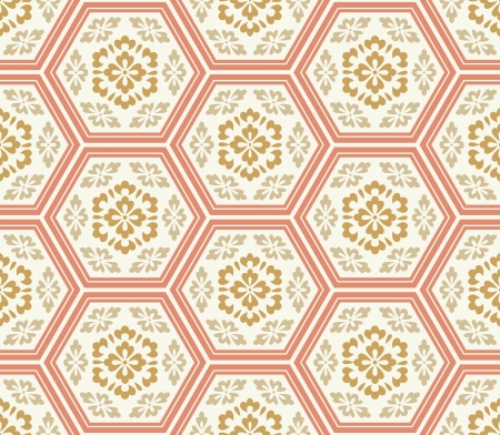 chrysanthemums: seamless chinese style fabric pattern Illustration