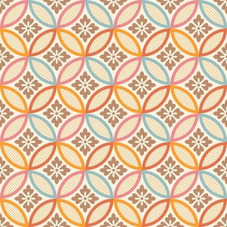 seamless japanese style fabric pattern