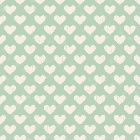 원활한 심장 텍스처 패턴
