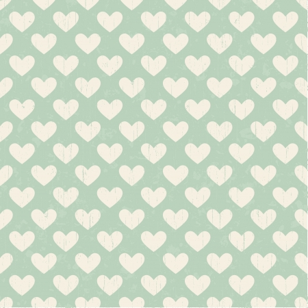 distressed: seamless heart texture pattern