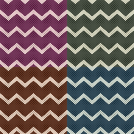 horizontal lines: seamless chevron pattern  Illustration