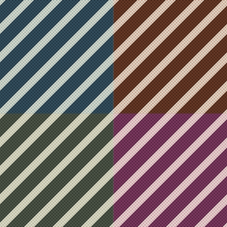 cerulean: seamless diagonal stripes pattern  Illustration