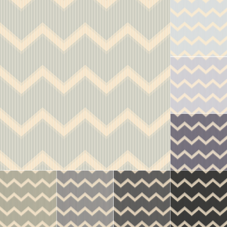 seamless grey tones chevron background Vector