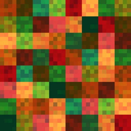 seamless multicolored squares pattern  Vector
