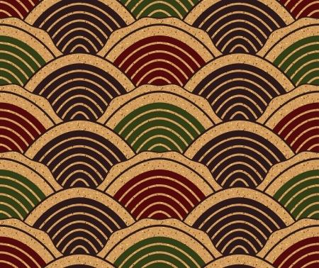seamless chinese ocean wave pattern  Иллюстрация
