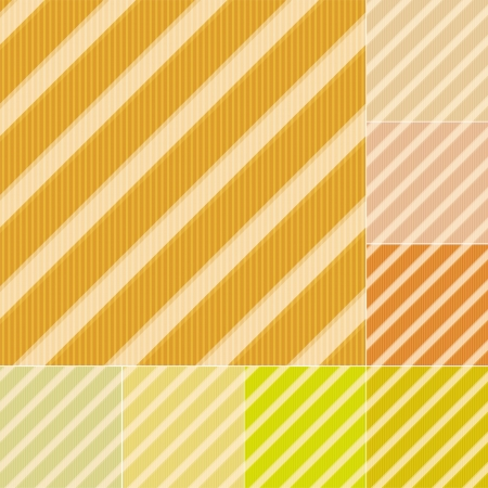 pale cream: seamless yellow colors stripes background Illustration