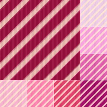 brink: seamless red pink diagonal stripes pattern
