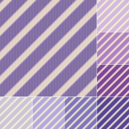 seamless purple violet stripes pattern Vector