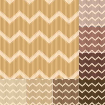 tuscan: seamless brown chevron pattern