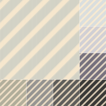 seamless grey black stripes pattern Vector