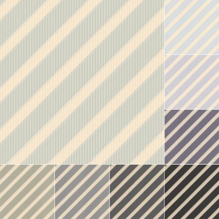 pastel tone: seamless grey black stripes pattern Illustration