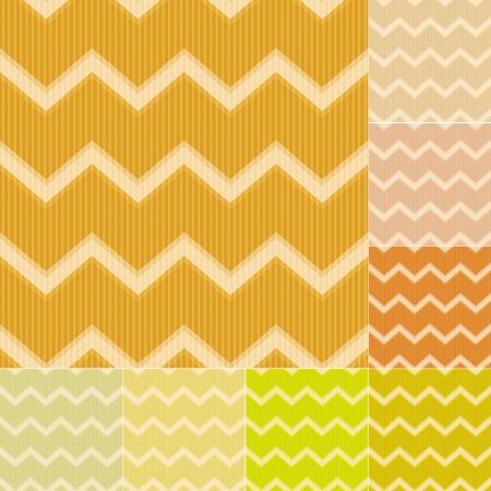 pale cream: seamless yellow chevron pattern
