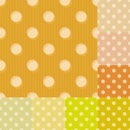 sand background:  seamless yellow polka dots pattern
