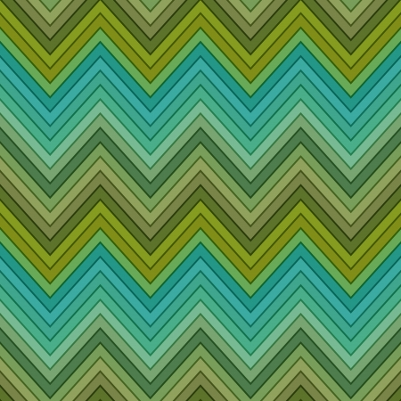 seamless multicolor green horizontal fashion chevron pattern Vector