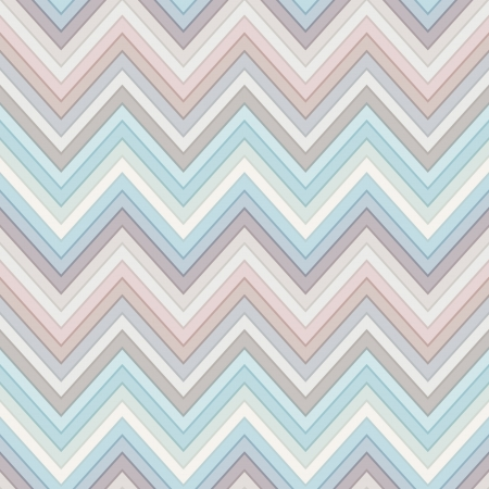 seamless multicolor horizontal fashion chevron pattern Vector