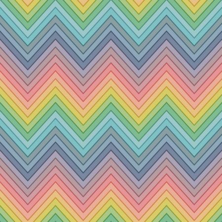 horizontal lines: seamless multicolor horizontal fashion chevron pattern