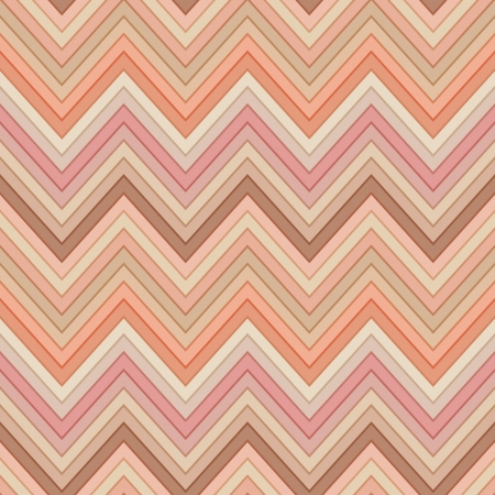 seamless pink and orange colors horizontal fashion chevron pattern Vector