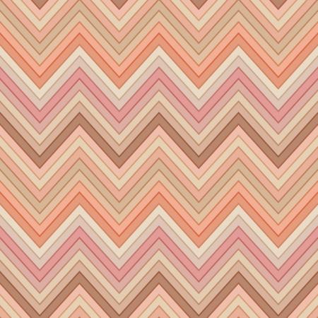 pink salmon: seamless pink and orange colors horizontal fashion chevron pattern