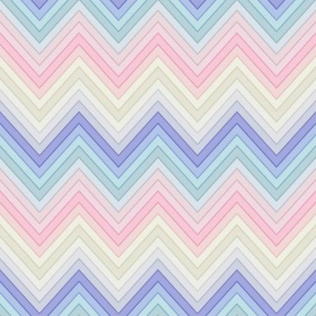 seamless pastel multicolor horizontal fashion chevron pattern Vectores