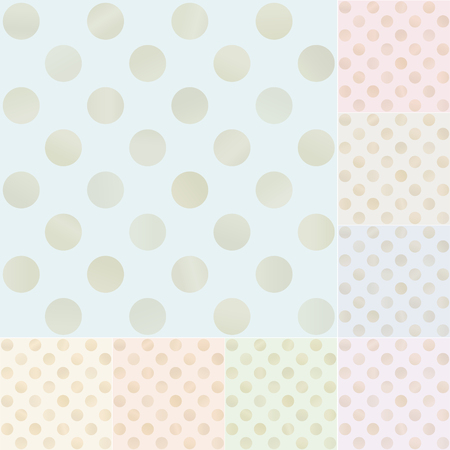 seamless pastel wavy stripes with gold gradient  Vector