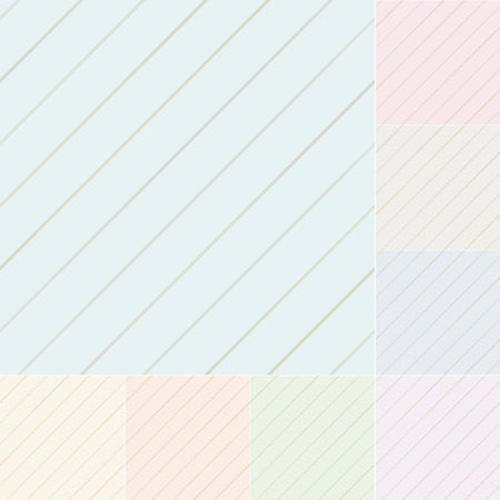 repeated: seamless diagonal stripes pattern with silver gradient