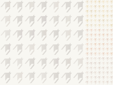 houndstooth: seamless houndstooth pattern with silver, gold, bronze gradient  Illustration