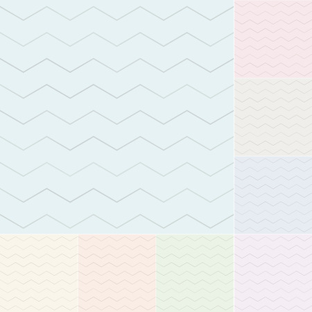 seamless pastel chevron pattern with silvery gradient Vector