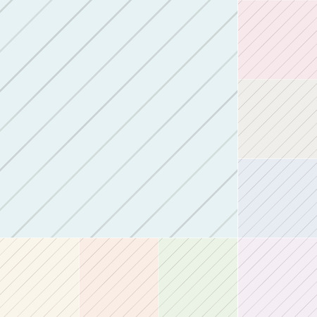 seamless pastel diagonal stripes with silver gradient Vector