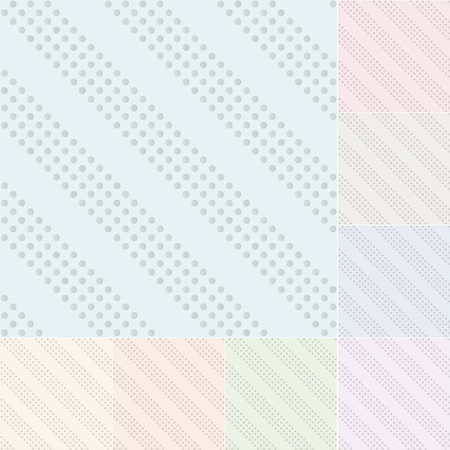 the silvery: seamless silvery dots with pastel gradient Illustration