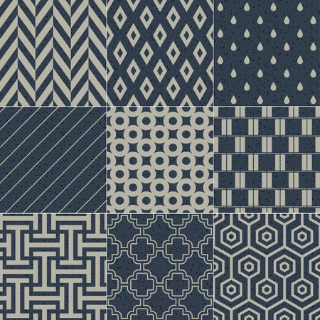 seamless geometric pattern grain paper texture  Vector