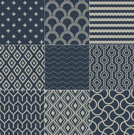 seamless geometric pattern grain paper texture  Vector
