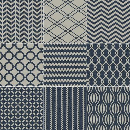 interlace: seamless geometric pattern grain paper texture