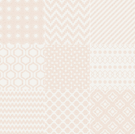 seamless geometric pattern grain paper texture Stock Vector - 25955095